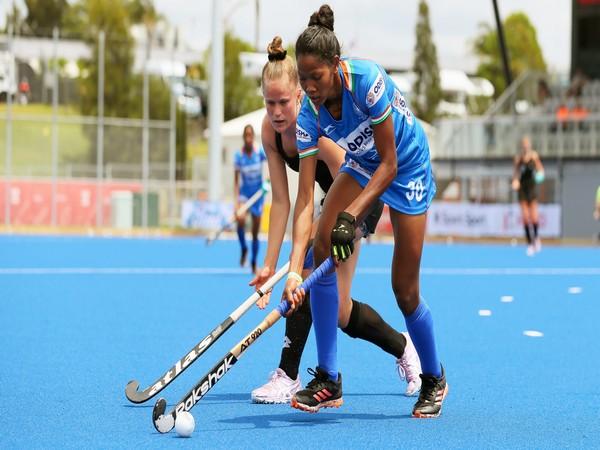 Hockey defender Salima Tete (Photo/ Hockey India)