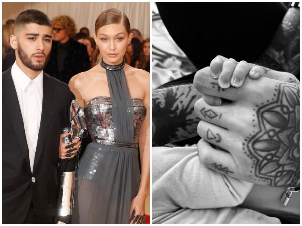 Zayn Malik and Gigi Hadid/ Picture shared by Zayn Malik (Image courtesy: Twitter)