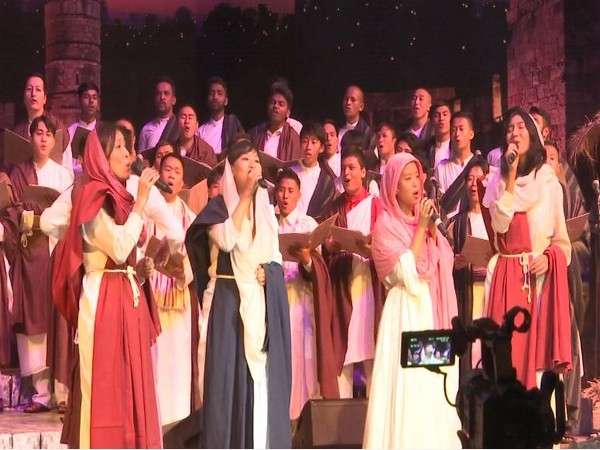The Christmas Cantata 2019 celebrations taking place at the Siri Fort Auditorium