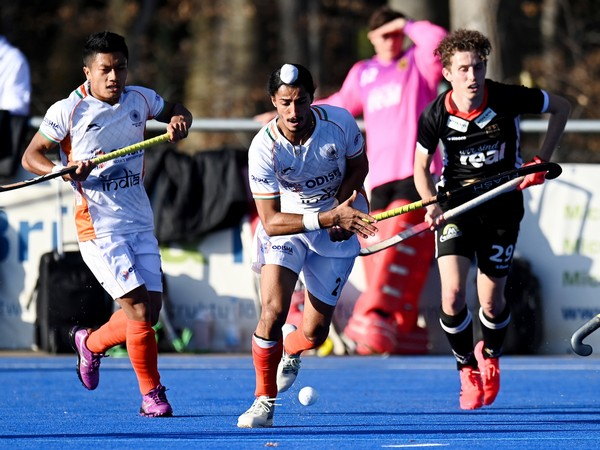 India in action against Germany (Photo/ Hockey India)