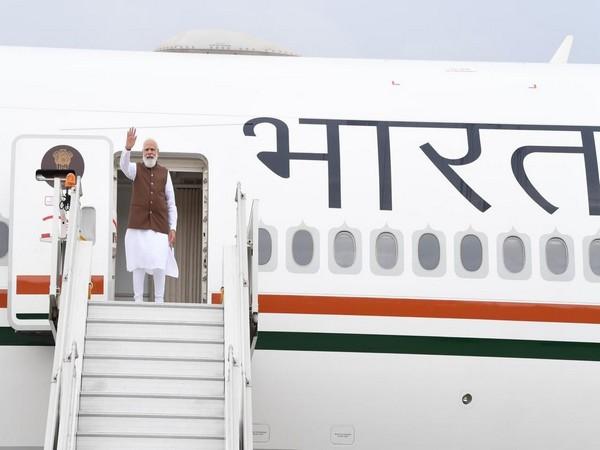 Prime Minister Narendra Modi leaving for US (Photo/ANI)