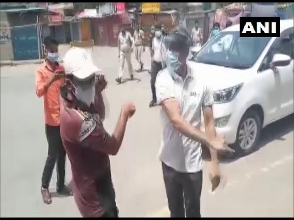 Surajpur Collector caught on camera slapping youth on Saturday.