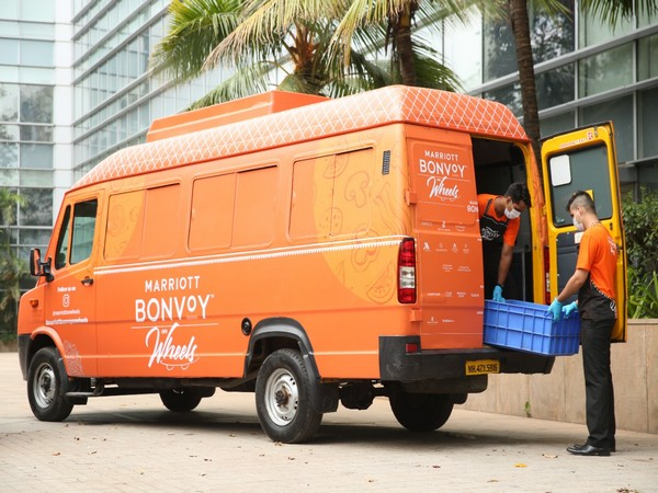 Marriott India launched this massive drive providing delicious, fresh meals for Covid warriors