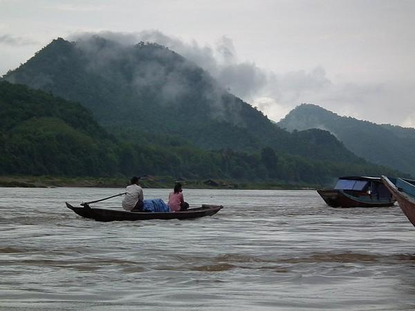 The Mekong River in Laos