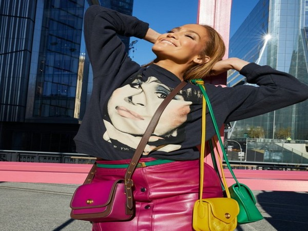 Jennifer Lopez in her first coach campaign (Image courtesy: Instagram)
