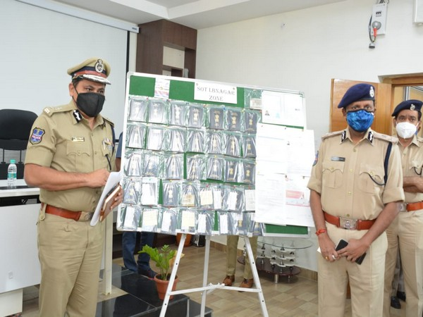 Special Operation Team (SOT) of the Hyderabad Police arrested four human traffickers from Malakpet