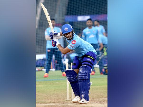 Delhi Capitals batsman Prithvi Shaw (Photo/ Delhi Capitals)