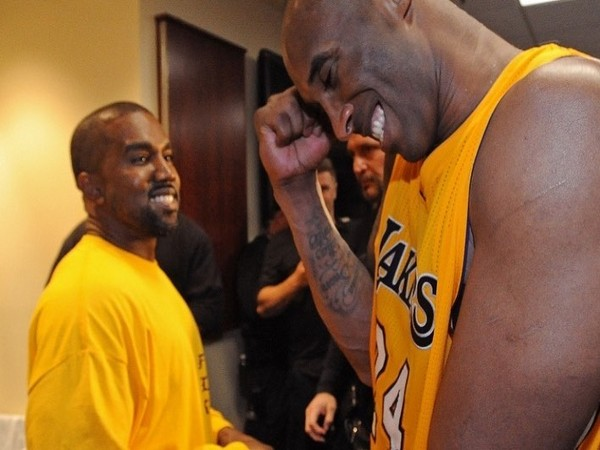 Rapper Kanye West with NBA player Kobe Bryant (Image courtesy: Instagram)