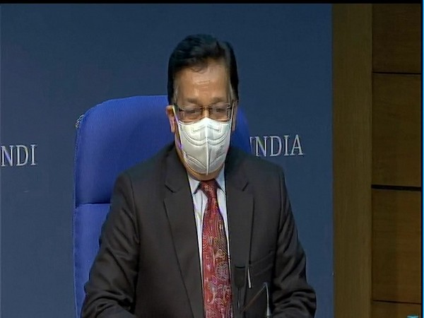 Rajesh Bhushan, Secretary, Health Ministry during a press conference in New Delhi. (File Photo)