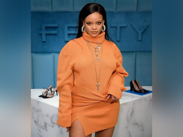 Rihanna at the launch celebration for FEITY and Bergdorf Goodman's new partnership in New York (Image courtesy: Instagram)