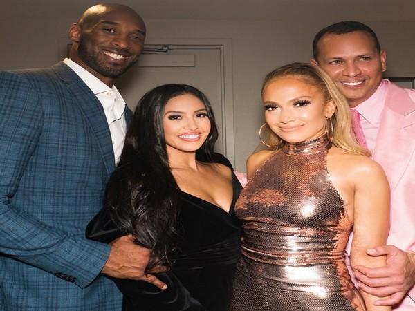 Jennifer Lopez and Alex Rodriguez with Kobe Bryant and Vanessa Bryant (Image courtesy: Instagram)