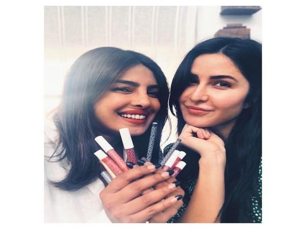 Priyanka Chopra with Katrina Kaif (Image courtesy: Instagram)