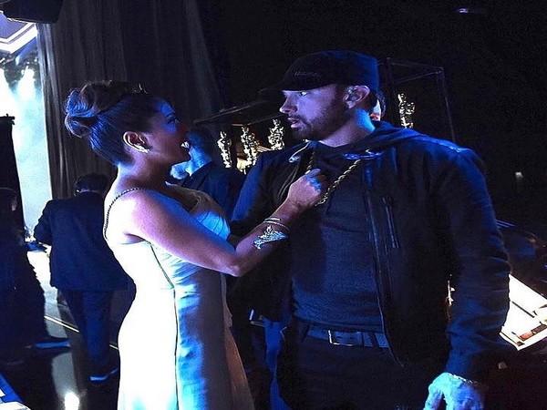 Salma Hayek shares awkward encounter with Eminem at Oscars 2020