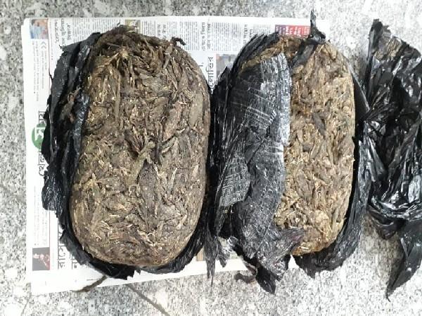 Image of the seized Marijuana. (Photo/ANI)