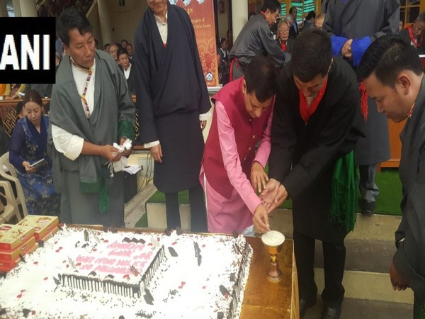 The 84th birthday of spiritual leader Dalai Lama was celebrated in Dharamshala on Saturday with enthusiasm. Photo/ANI