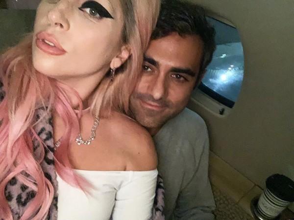 Lady Gaga with Michael Polansky (Image courtesy: Instagram)