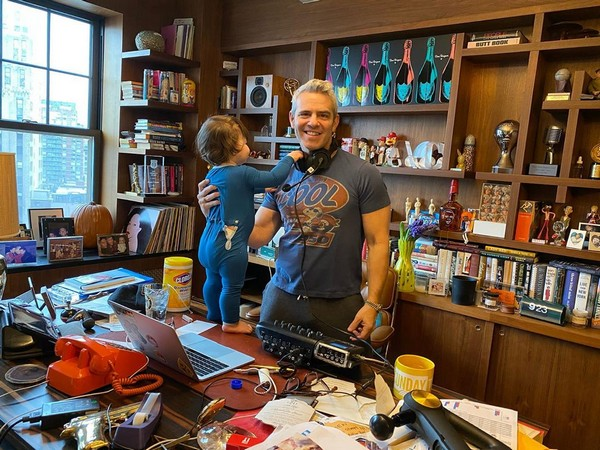 Andy Cohen with son (Image courtesy: Instagram)