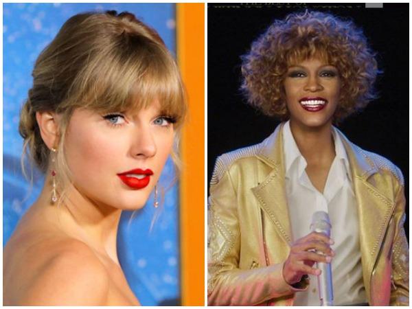 Taylor Swift , Whitney Houston (Image courtesy: Instagram)