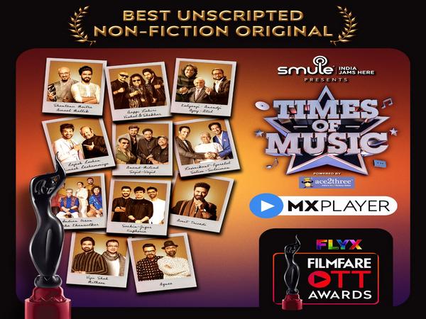 Flyx Filmfare OTT Awards