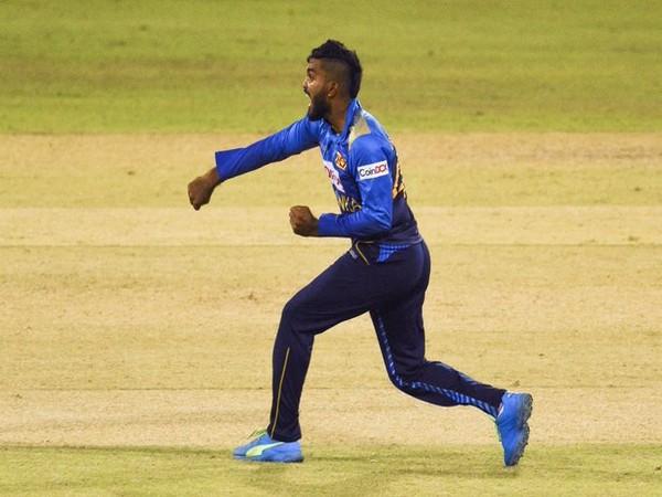 Sri Lanka spinner Wanindu Hasaranga (Photo/ ICC Media Twitter)