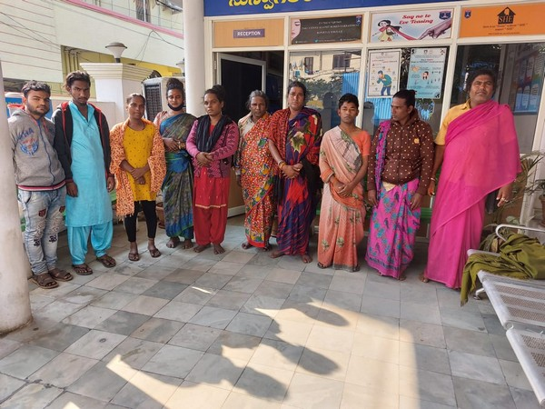 Telangana police arrest 8 transgenders and two male autorickshaw drivers for extortion (Photo/ANI)