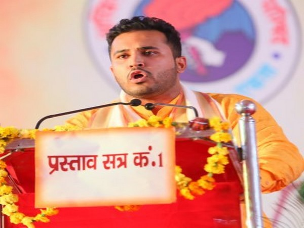 DUSU president Akshit Dahiya (Photo/Twitter@iAkshitDahiya)