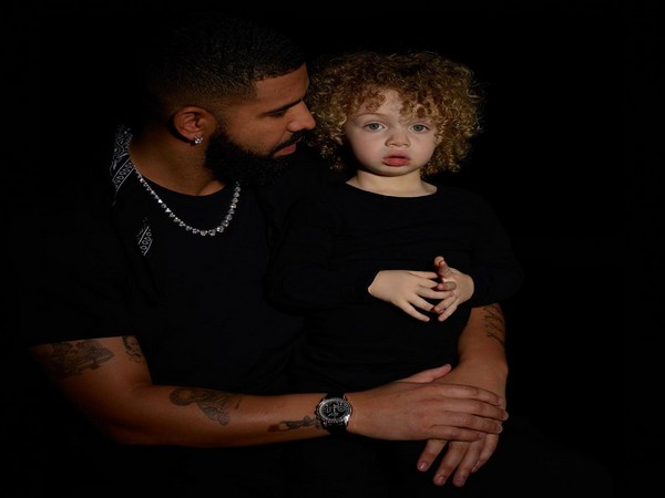 Drake with son Adonis (Image courtesy: Instagram)