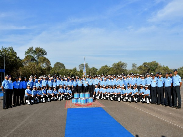 Chitnis Squadron bagged commandant's banner at Air Force Academy (Photo/ANI)