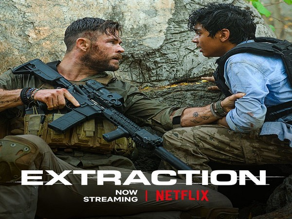 A still from Netflix film 'Extraction' (Image courtesy: Netflix India Instagram)