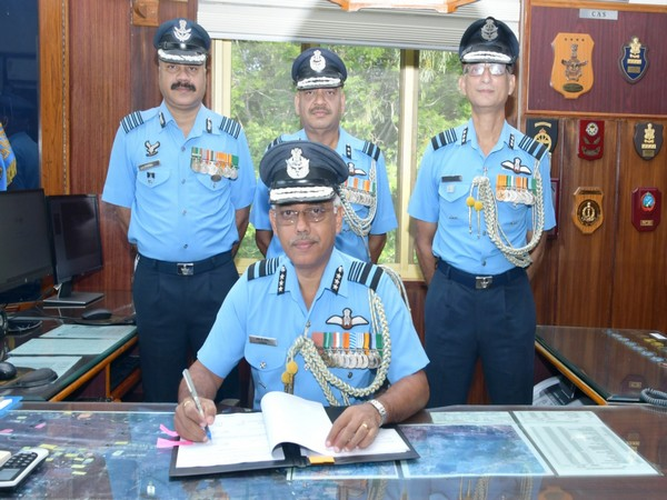 Air Marshal IP Vipin took over as the Commandant of Air Force Academy on August 1.