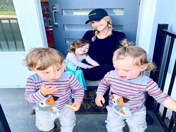Meghan King Edmonds and her kids (Image courtesy: Instagram)