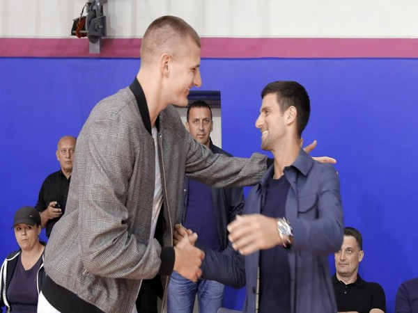 Novak Djokovic and Nikola Jokic (File Photo)