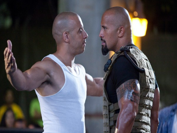 Vin Diesel and Dwayne Johnson (Image source: Instagram)