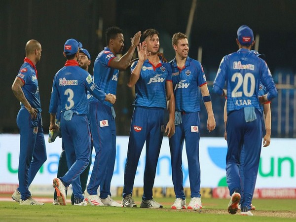 Delhi Capitals in action against Rajasthan Royals (Photo/ iplt20.com)