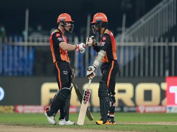 SRH's David Warner and Wriddhiman Saha (Photo/ iplt20.com)