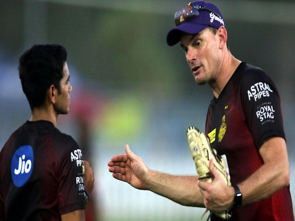 Kyle Mills, bowling coach of KKR (Photo/ KKR)