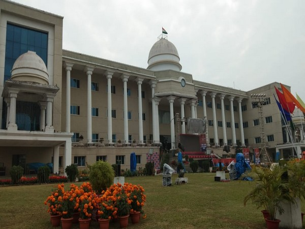 A view of Bhubaneswar-Cuttack Police Commissionerate building. Photo/ANI
