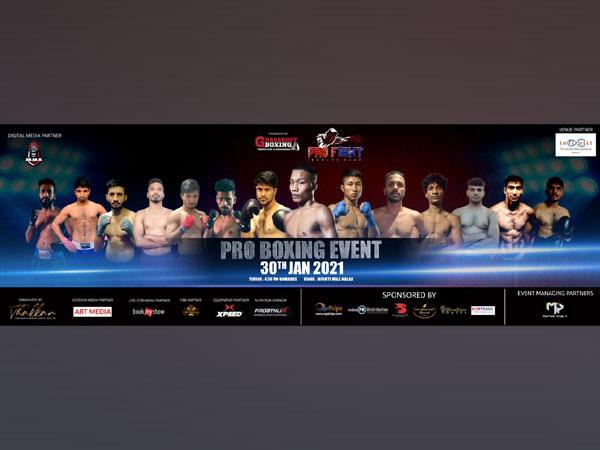 Pro Boxing Event in Mumbai