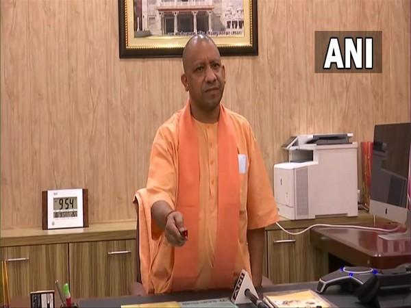 Uttar Pradesh Chief Minister Yogi Adityanath. (Photo/ANI).