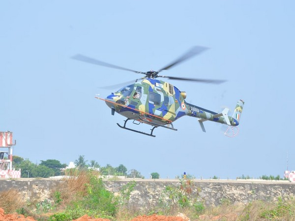 Light Utility Helicopter, an HAL production