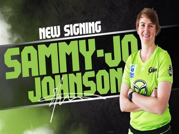 Sammy-Jo Johnson joins Sydney Thunder. (Photo/ Sydney Thunder Twitter)