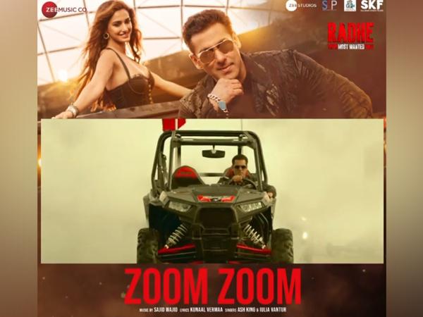Salman Khan in 'Zoom Zoom' (Image Source: Instagram)