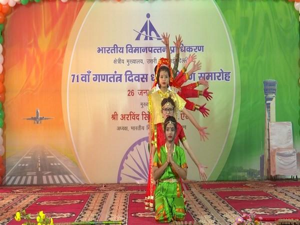 AAI celebrated 71st Republic Day today in New Delhi. Photo/ANI