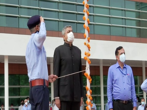 The Airports Authority of India (AAI) on Saturday celebrated the 74th Independence Day with great patriotic fervour in New Delhi.