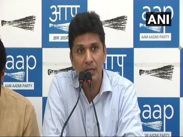 AAP spokesperson Saurabh Bhardwaj. (File photo/ANI)