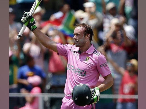 Former South Africa batsman AB de Villiers.