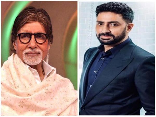 Amitabh Bachchan, Abhishek Bachchan.