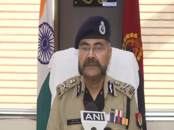 Additional Director General of Police, Law and order, Prashant Kumar (Photo/ ANI)