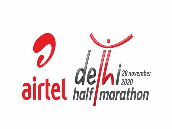 Airtel Delhi Half Marathon logo