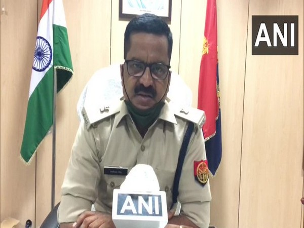 Additional Deputy Superintendent of Police Ranvijay Singh speaking to ANI